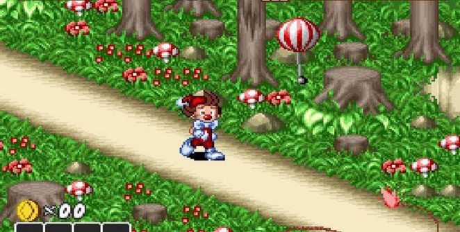Kid Klown in Crazy Chase - SNES trucchi videogame
