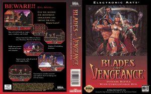 Blades of Vengeance - Mega Drive trucchi