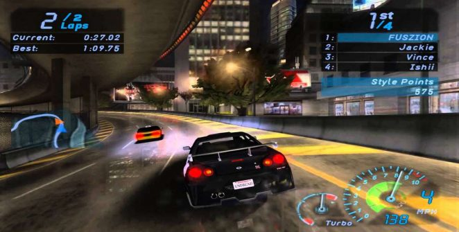 Need For Speed Underground - GameCube trucchi videogame