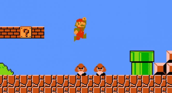Super Mario Bros. - Nintendo videogame