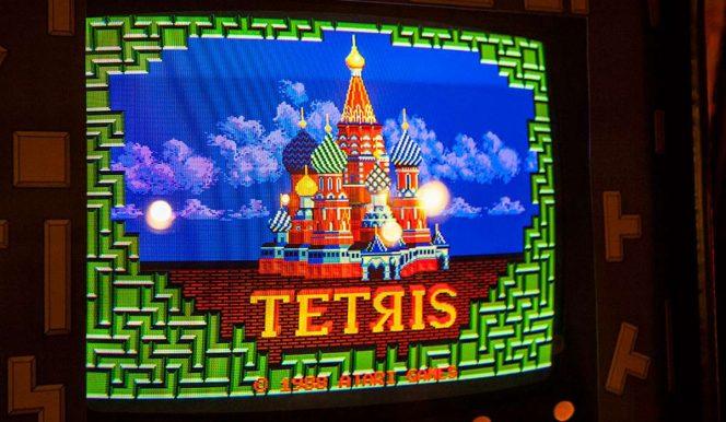 Tetris - Atari Games videogame