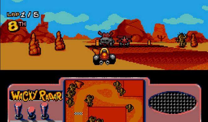 Wacky Races - Amiga trucchi videogame