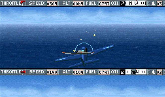 Carrier Aces - SNES codici videogame