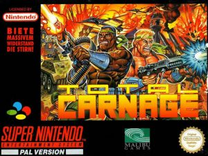Total Carnage - SNES codici
