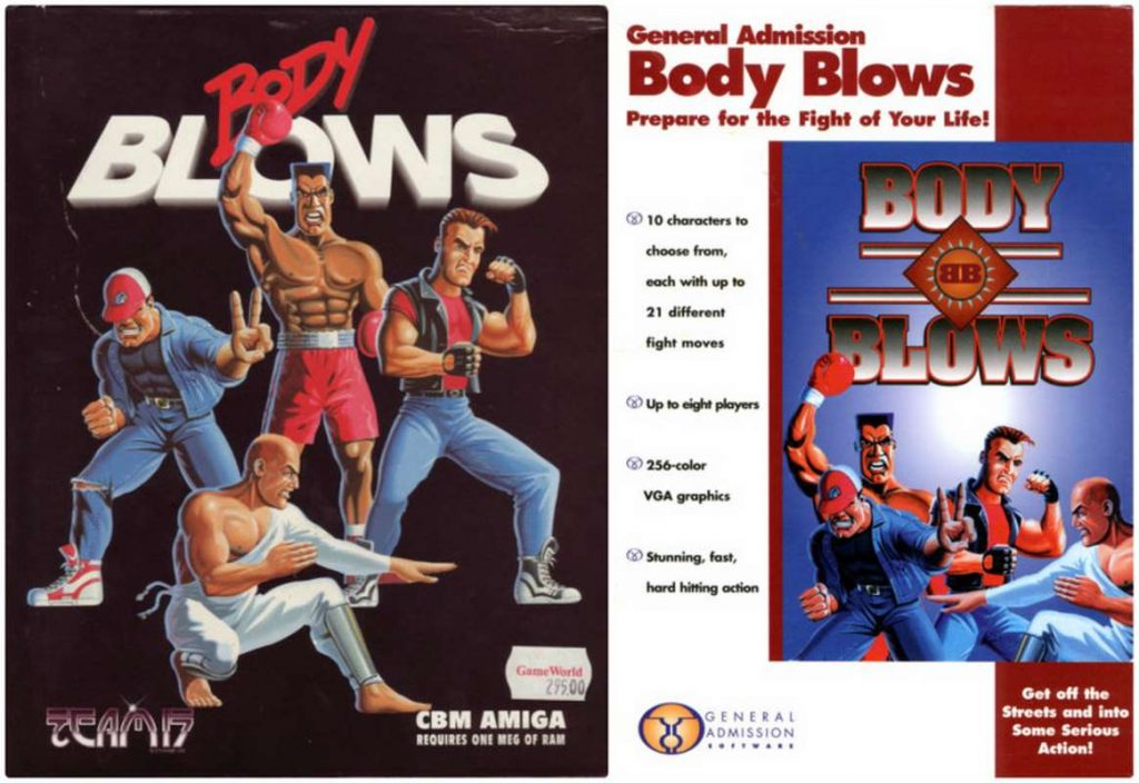 Body Blows - Amiga trucchi e codici