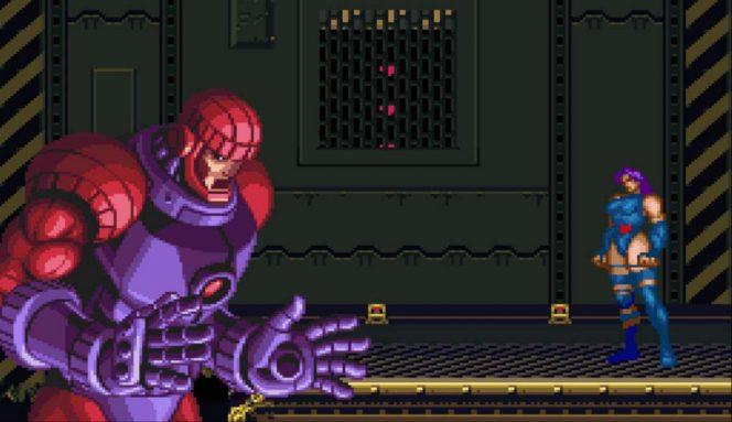 X-Men Mutant Apocalypse - SNES password videogame