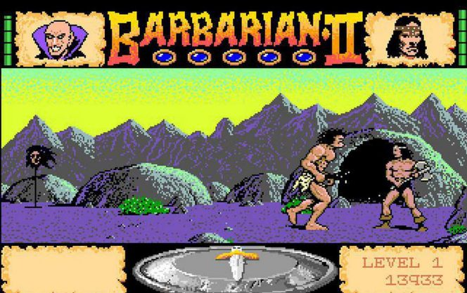 Barbarian II The Dungeon of Drax - Amiga trucchi videogame