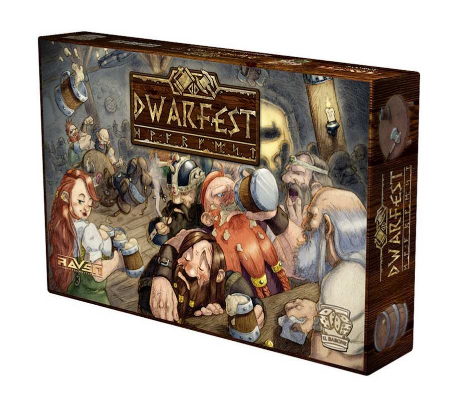 Dwarfest recensione retrogames planet - Waterloo gioco da tavolo ...