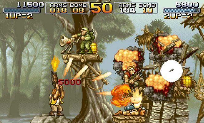 Metal Slug - Neo Geo trucchi videogame