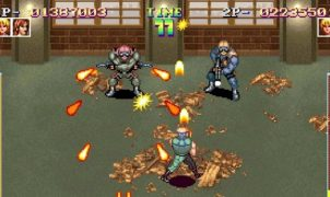 Shock Troopers - Neo Geo trucchi videogame