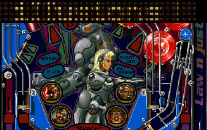 Pinball Illusions - Amiga trucchi videogame