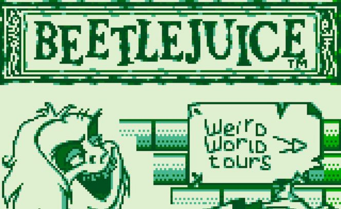 Beetlejuice - Game Boy trucchi videogame
