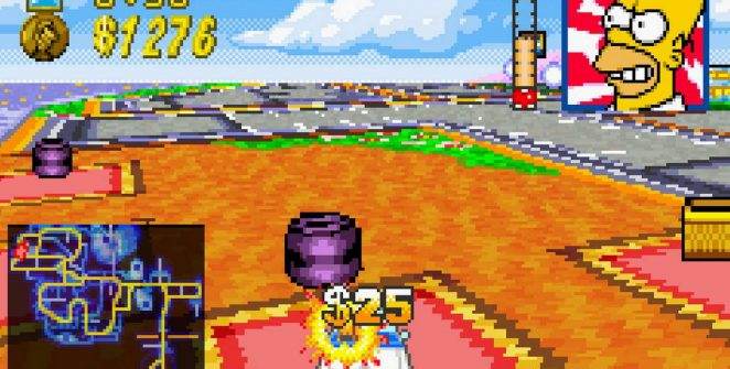 The Simpsons Road Rage - GBA trucchi videogame