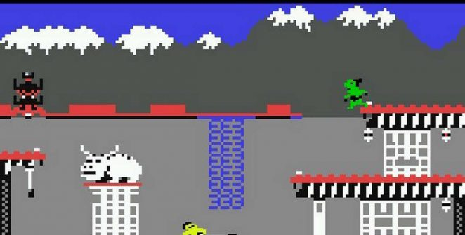 Bruce Lee - C64 trucchi videogame