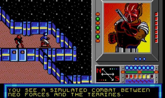 Buck Rogers - Mega Drive trucchi videogame