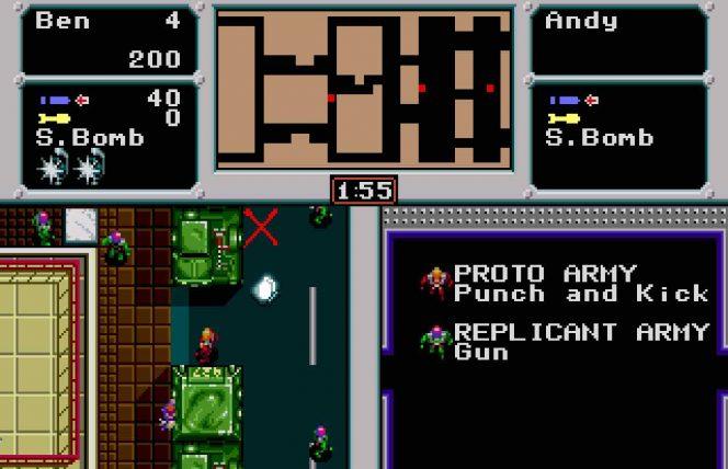 Crack Down - Mega Drive trucchi videogame