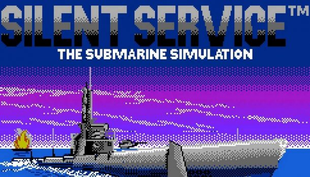 Silent Service - NES videogame