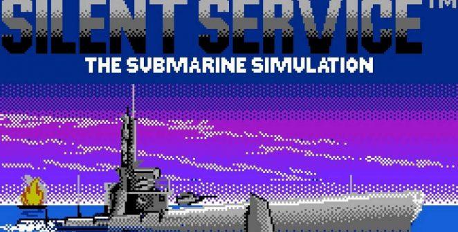 Silent Service - NES videogame