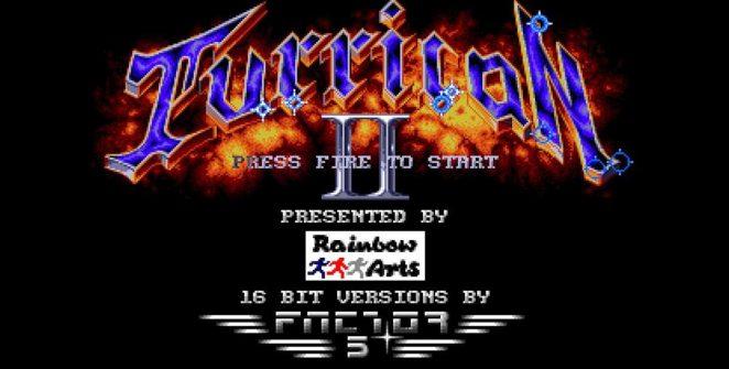 Turrican II - Amiga videogame