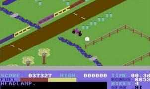 Action Biker - C64 videogame