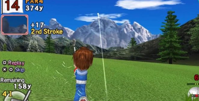 Everybody's Golf 2 - PSP videogame