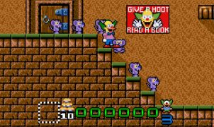 Krusty's Super Fun House - SNES videogame