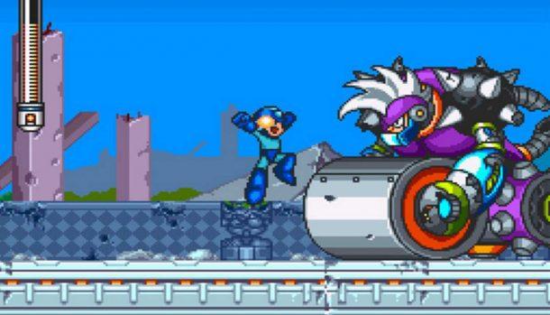 Mega Man 7 - SNES videogame
