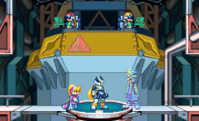 Mega Man Zero 2 - GBA videogame
