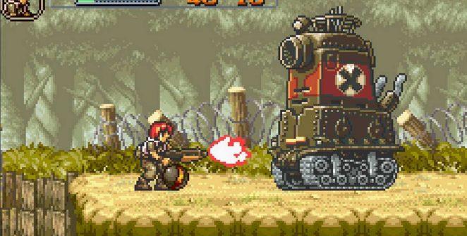 Metal Slug Advance - GBA videogame
