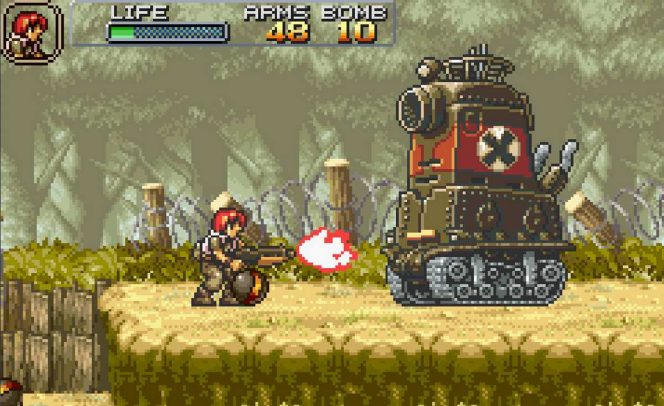 Metal Slug Advance - GBA videogame