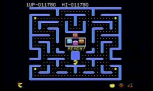 Ms. Pac-Man C64 videogame