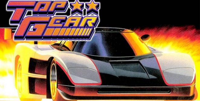 Top Gear - SNES videogame