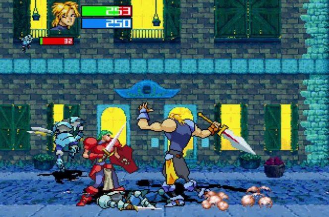 Guardian Heroes - Sega Saturn videogame