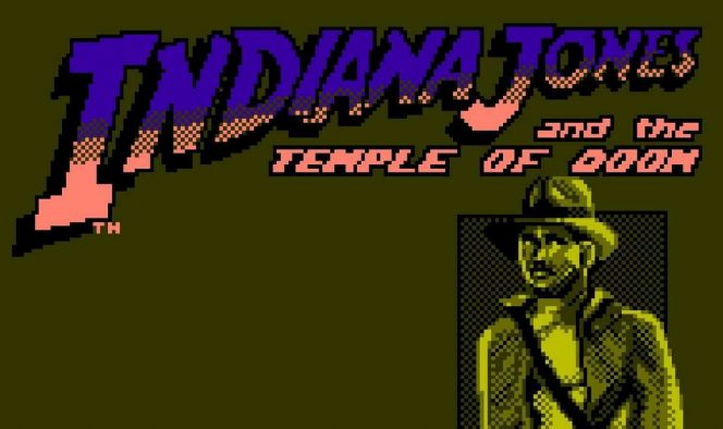 Indiana Jones and the Temple of Doom - NES videogame