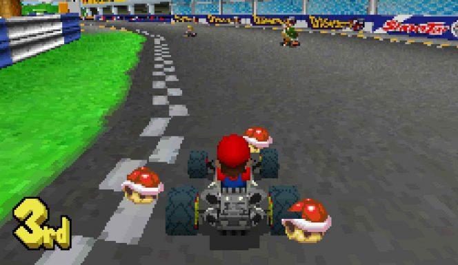 Mario Kart DS videogame