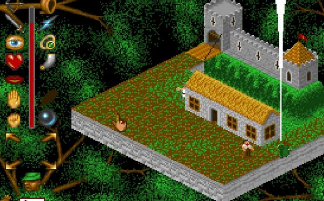 The Adventures of Robin Hood - Amiga videogame