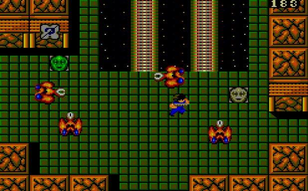 Alien Syndrome Master System videogame