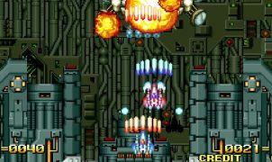 Alpha Mission II Neo Geo videogame