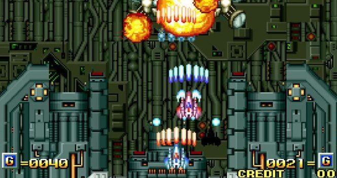 Alpha Mission II Neo Geo videogame