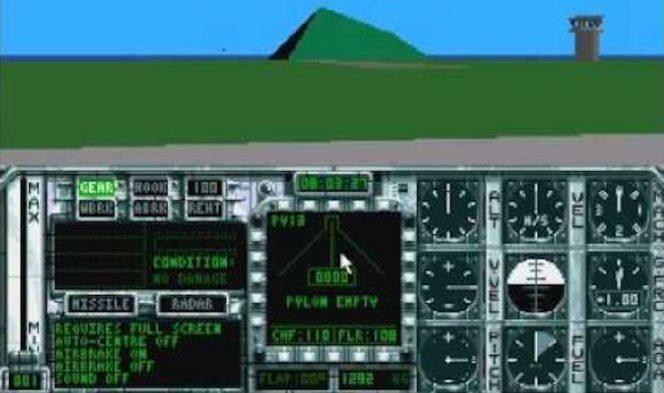 Birds of Prey - Amiga videogame