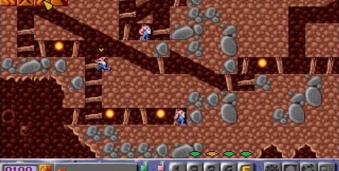 Diggers - Amiga CD32 videogame