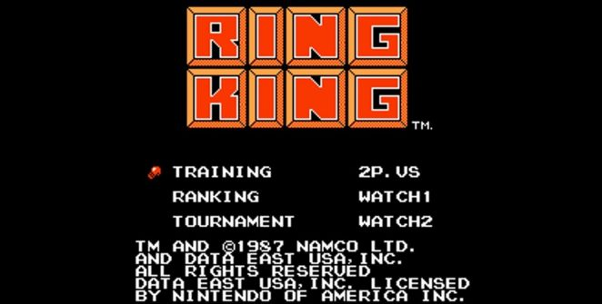 King of Boxer - NES videogame
