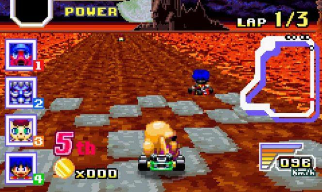 Konami Krazy Racers GBA videogame