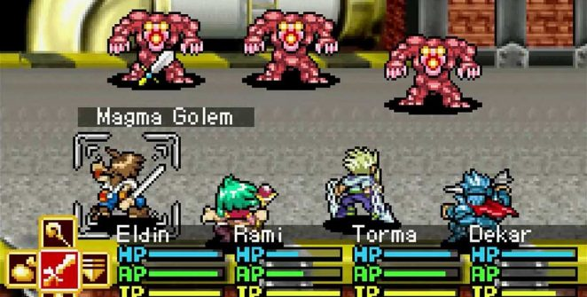 Lufia The Ruins of Lore GBA videogame