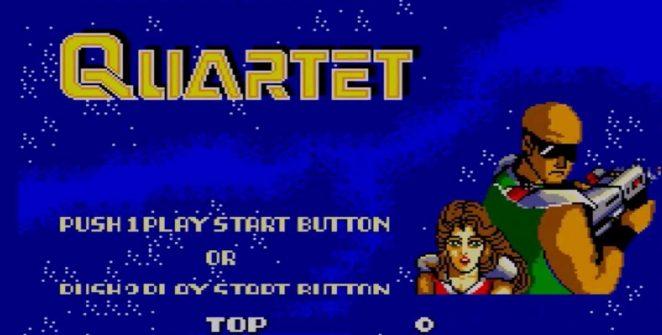 Quartet - Master System videogame