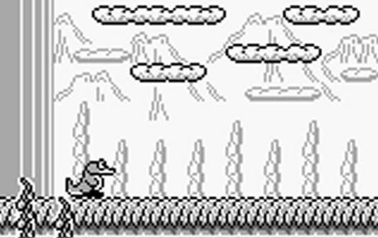 Tail 'Gator GameBoy videogame