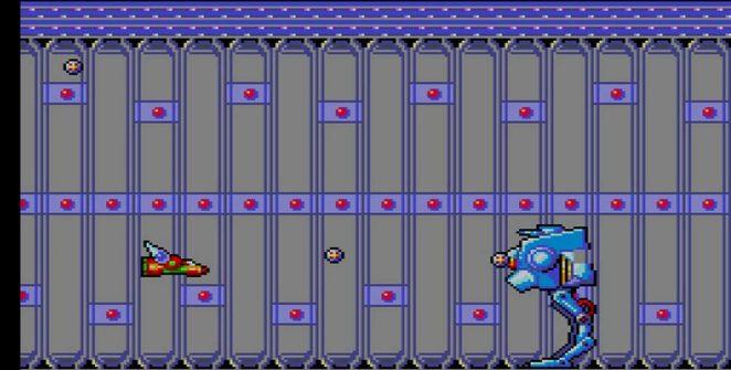 TransBot Sega Master System videogame
