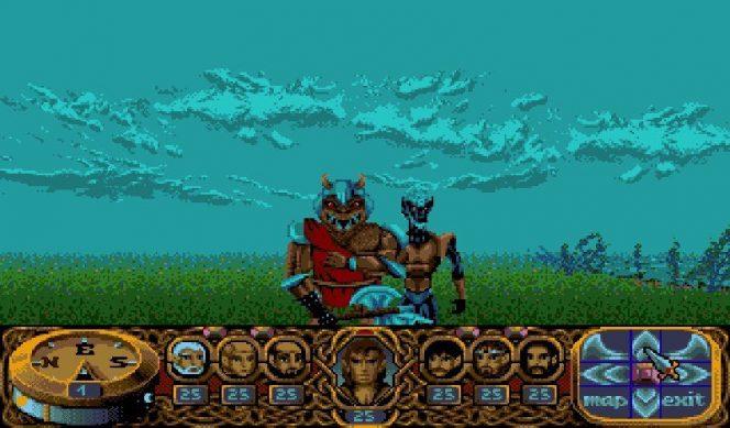 Crystals of Arborea Amiga videogame