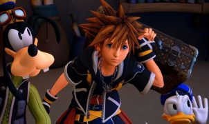 Kingdom Hearts 3 gameplay
