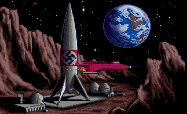 Rocket Ranger Amiga videogame